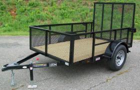 Better Built 5 x 8 2Ft. Mesh Sides Utility Trailer