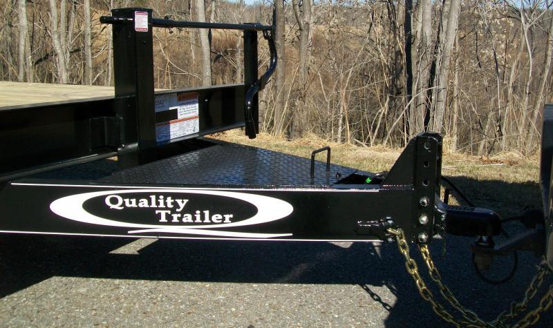 Quality 82 x 22 17K Partial Tilt Equipment Trailer