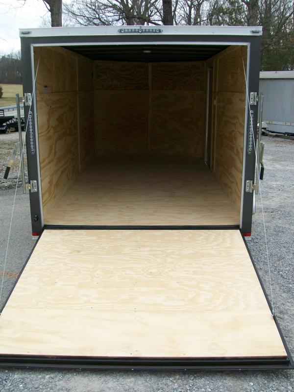 Lark 7 x 14 Ramp Door Enclosed Cargo Trailer