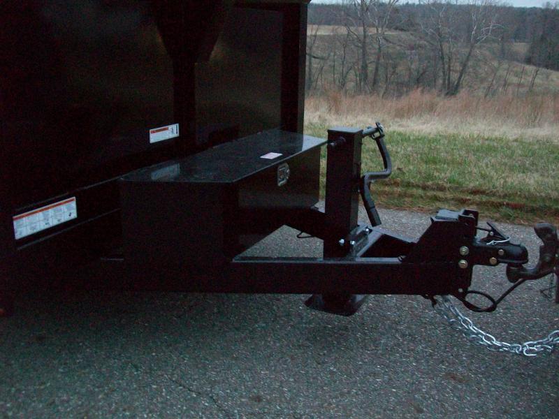 Sure-Trac 82 x 16 14K HD Scissor Lift Dump Trailer