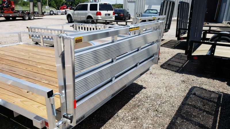 2019 H and H Trailer H7612RSA-030 Utility Trailer