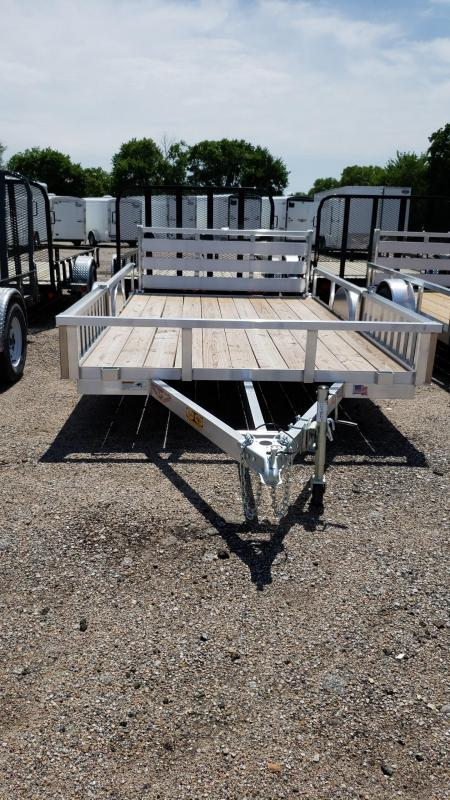 2019 H and H Trailer HH510473 8.5 (82) x 12 ALUM