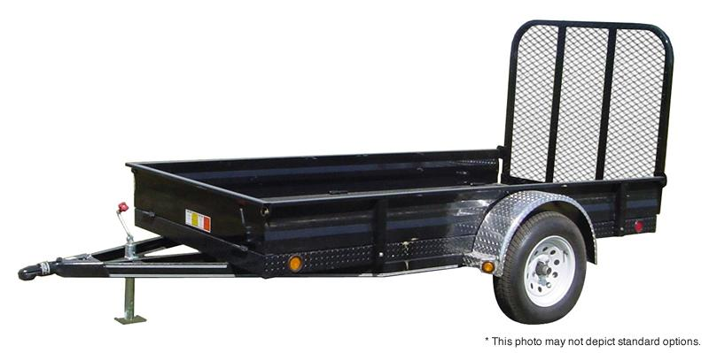 "2018 PJ Trailers 8' x 60"" All-Steel Utility Trailer"