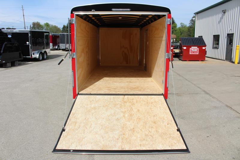 2019 United Trailers ULH 7' x 16'' Enclosed Cargo Trailer
