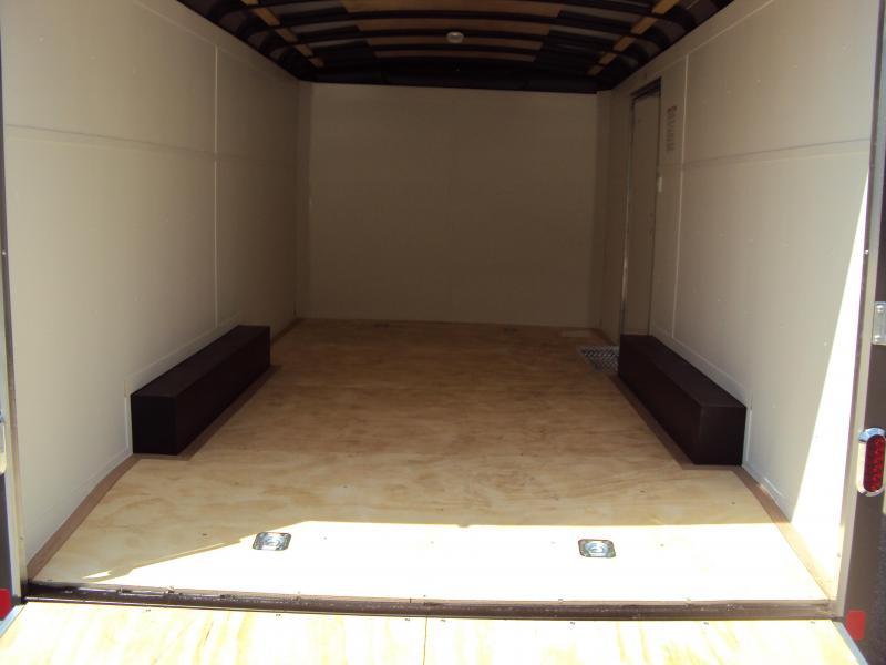 2018 United Trailers ULT 8.5X16 Enclosed Cargo Trailer