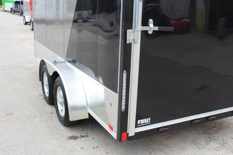 2018 United Trailers XLMTV 7x14 Motorcycle Trailer