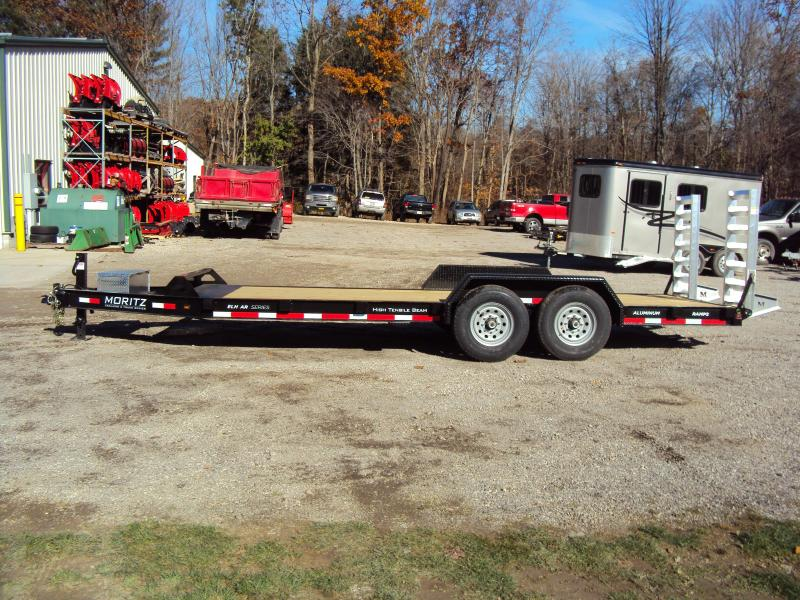 2019 Moritz International 7 x 18 Equipment Trailer