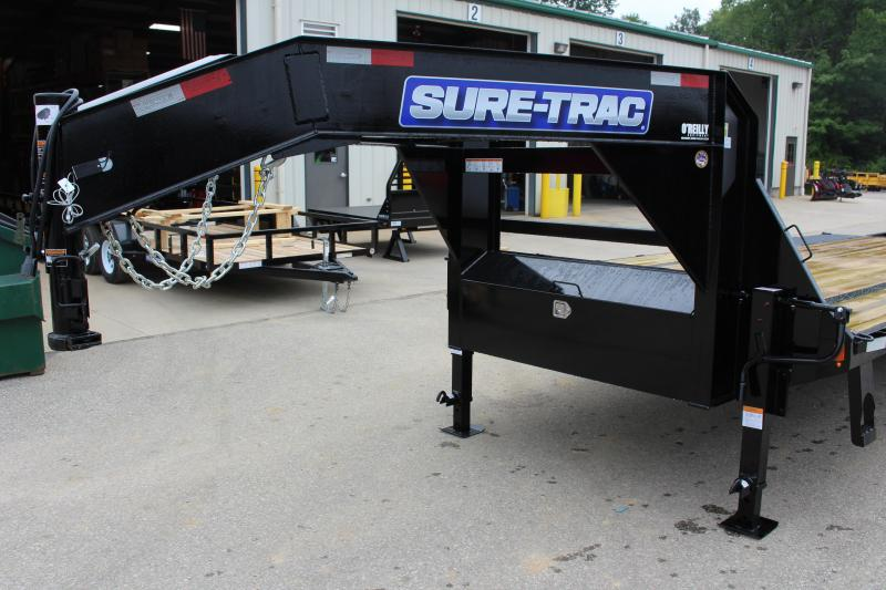 2018 Sure-Trac 8.5 x 25' Flatbed Trailer