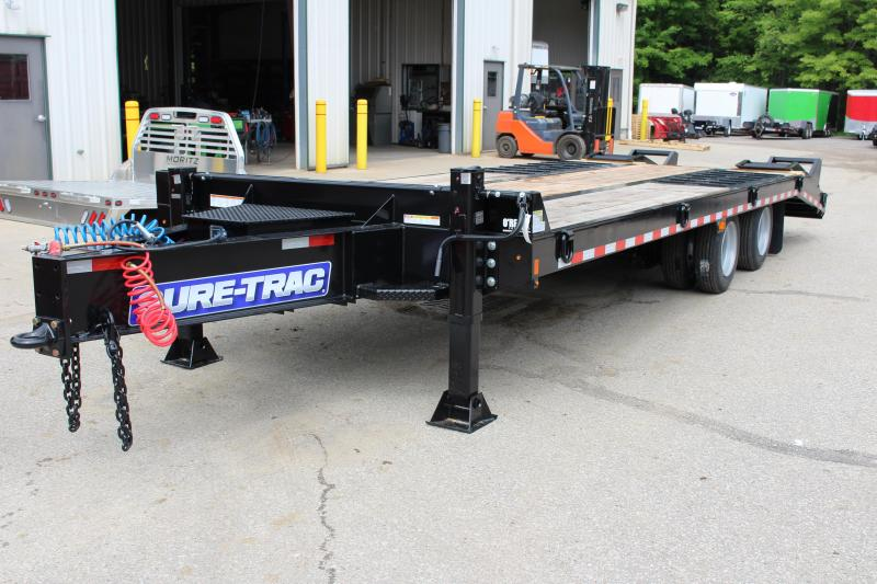 2019 Sure-Trac 8.5x20+5 20 Ton Air Brake Deckover Tandem