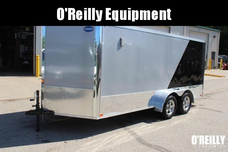 2019 United Trailers XLMT 7x16 Motorcycle Trailer