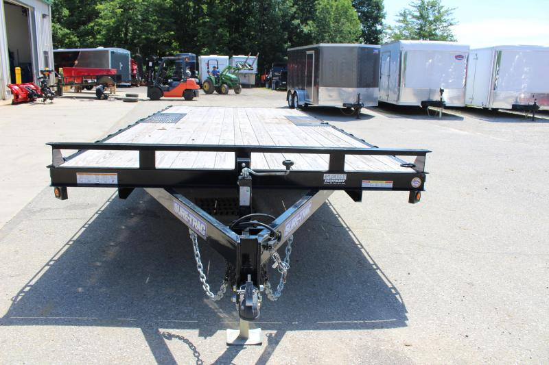 2016 Sure-Trac 8.5' x 20' Flatbed Trailer Used
