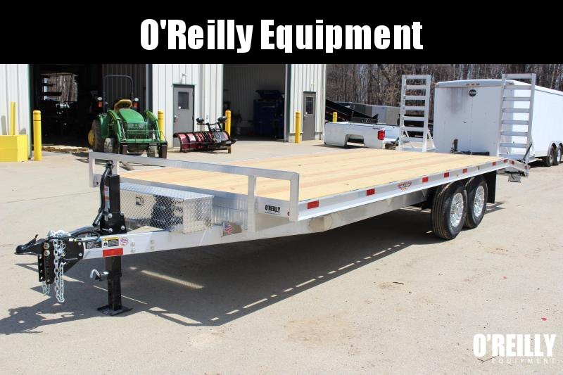2018 H and H Trailer 8.5 x 22' Flatbed Trailer
