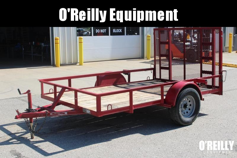2006 Quality 6x10 Utility Trailer Used