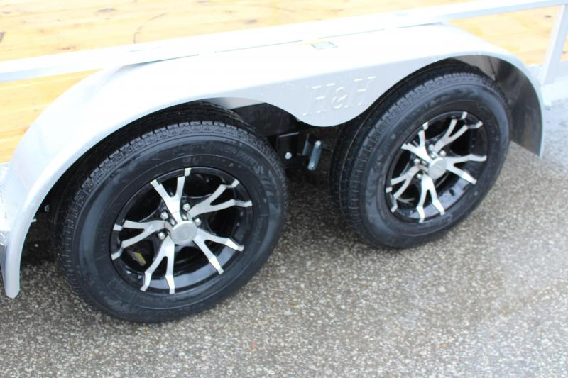 2017 H and H Trailer 6.8 x 16' Utility Trailer