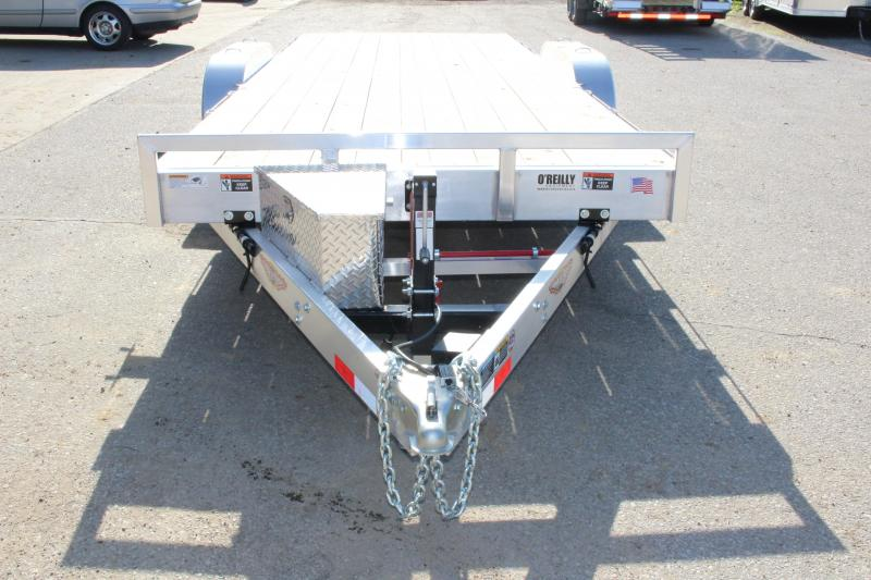 2018 H and H Trailer 7' x 18' Utility Trailer