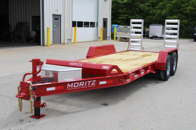 2019 Moritz International 7 x 18 Equipment Trailer in Ashburn, VA