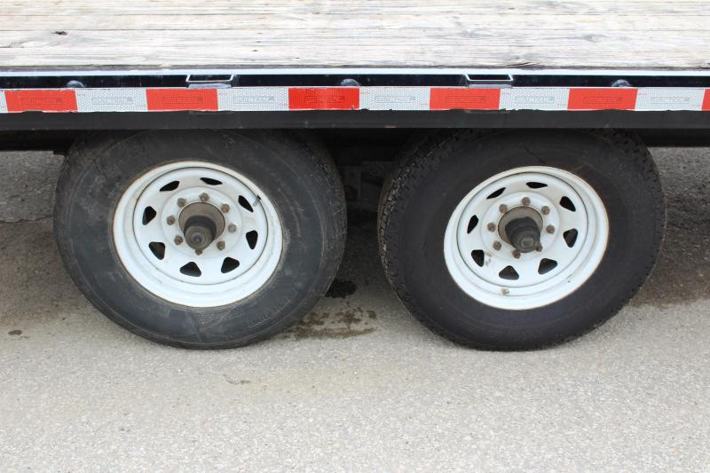 2016 Sure-Trac 8.5 x 25' Flatbed Trailer Used
