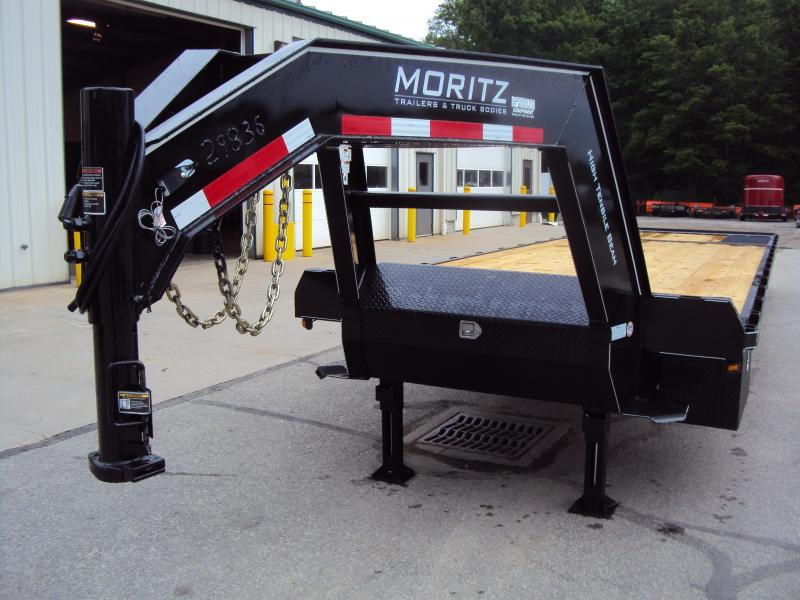 2019 Moritz International FGSH-10+20 Flatbed Trailer