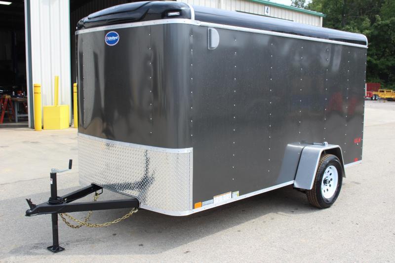 2020 United Trailers ULH 6 x 12 Enclosed Cargo Trailer
