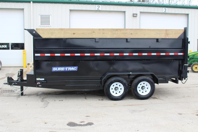 2019 Sure-Trac 7x16 HD Dump Trailer High Side