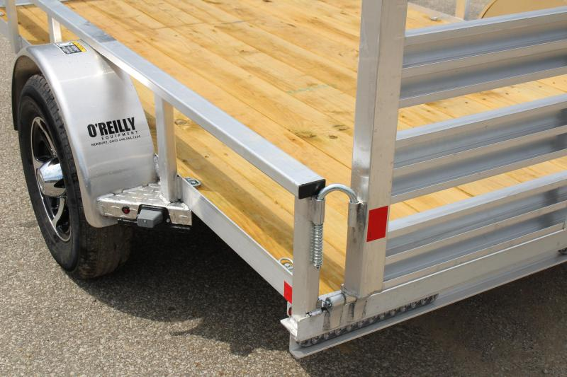 2017 H and H Trailer 6.5 x 10' Utility Trailer
