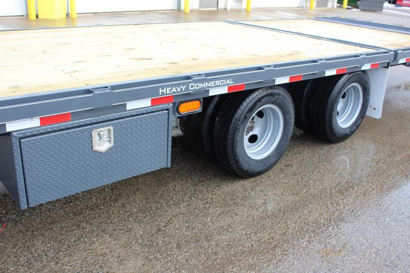 2018 Moritz International FGSH-10+20 Flatbed Trailer