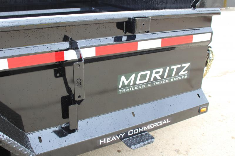 """2018 Moritz International 6'10""""x10 HD Dump Trailer"""