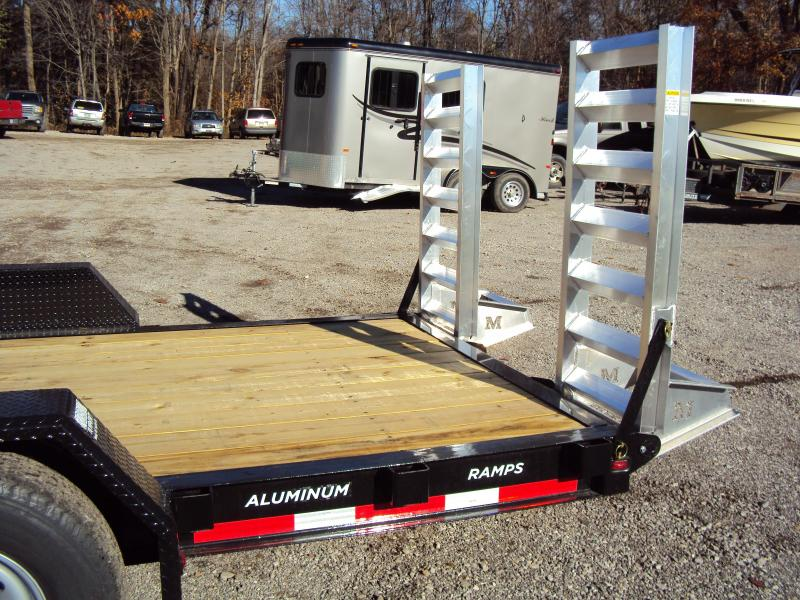 2018 Moritz International 7 x18 Equipment Trailer
