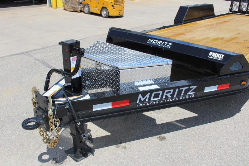 2018 Moritz International 7 x18 Equipment Trailer
