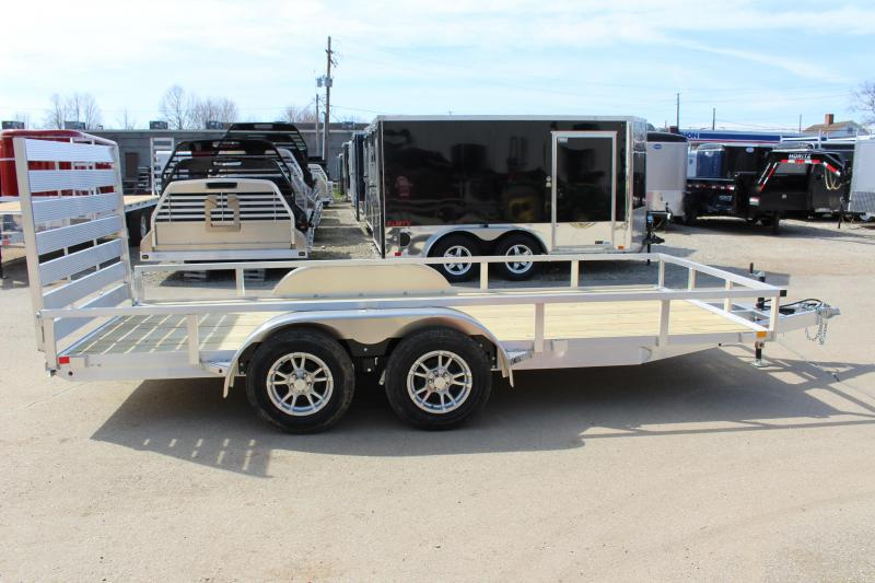2018 H and H Trailer 6.8 x 14' Utility Trailer