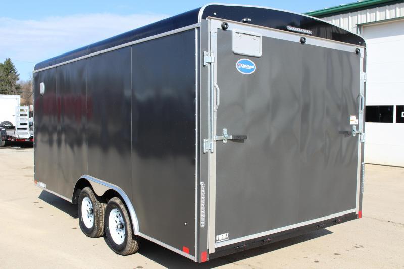 2019 United Trailers ULT 8.5X16 Enclosed Cargo Trailer