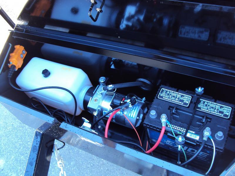 2019 Sure-Trac 96 IN x 14 Deckover 14K Scissor Dump
