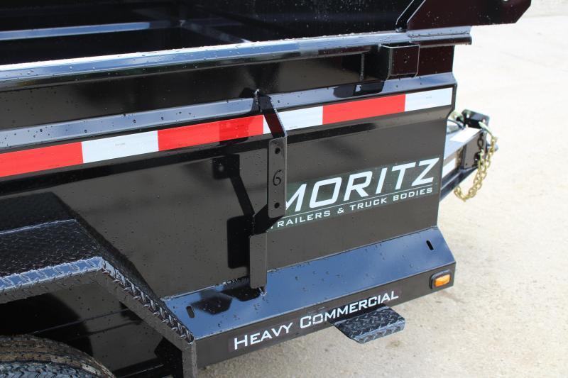 """2019 Moritz International 6'2""""x10 HD Dump Trailer"""
