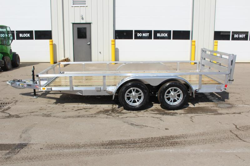 2019 H and H Trailer 6.8 x 14' Utility Trailer