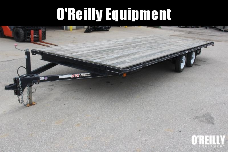 2014 Carry-On 8X20DO-LOB Flatbed Trailer USED