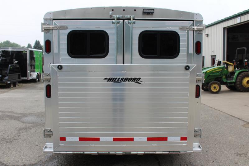 2019 Hillsboro Industries 7 x 18 ENDURA PEN TRAILER Livestock Trailer