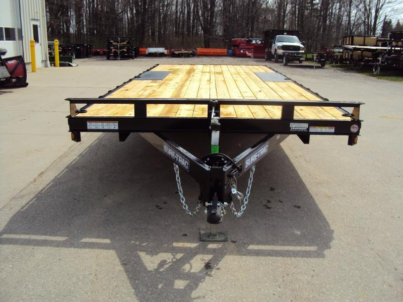 2019 Sure-Trac 8.5' x 18' Flatbed Trailer