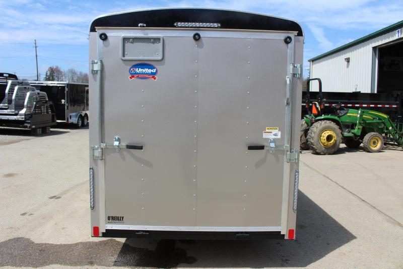 2019 United Trailers ULH 6 x 12 Enclosed Cargo Trailer