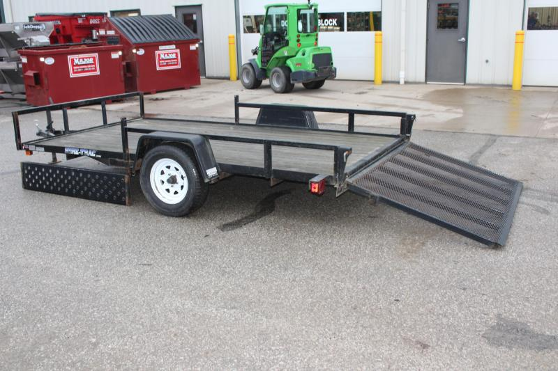 2012 Sure-Trac 7 x 12 ATV Trailer Used