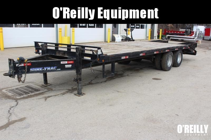 2018 Sure-Trac 8.5 x 205' Flatbed Trailer