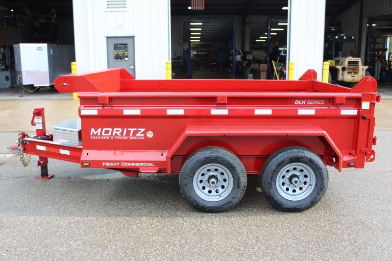 """2018 Moritz International 6'2""""x10 HD Dump Trailer"""