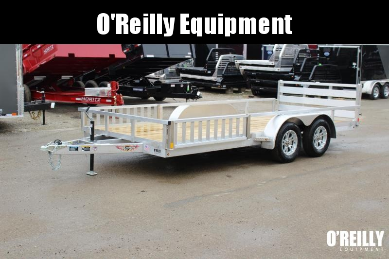 2019 H and H Trailer 6.8 x 14' Utility ATV Trailer