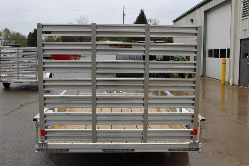 2017 H and H Trailer 6.5 x 12' Utility Trailer