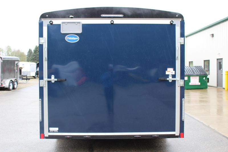 2018 United Trailers ULT 8.5X18 Enclosed Cargo Trailer