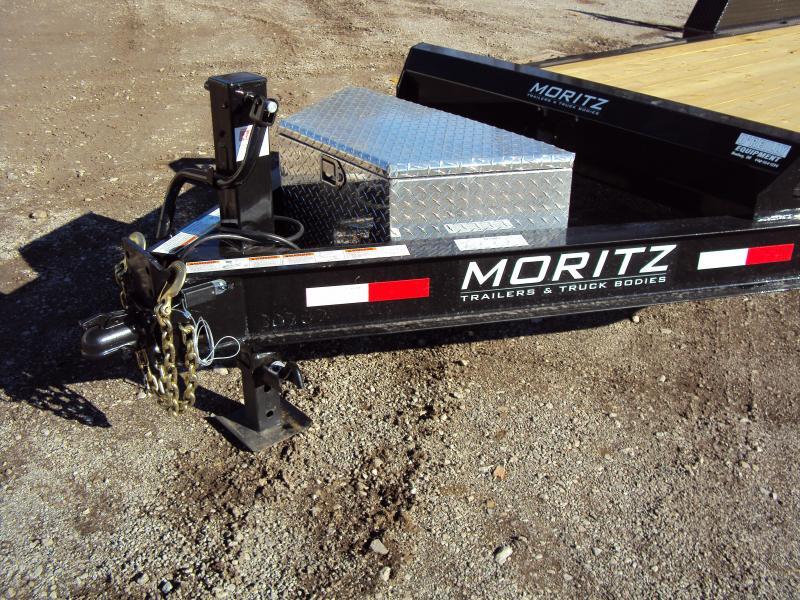 2019 Moritz International 7 x18 Equipment Trailer