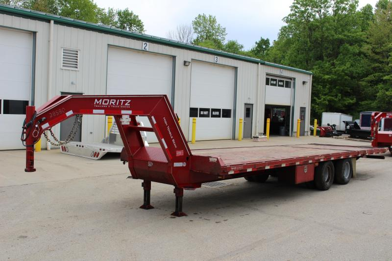 2016 Moritz International FGSH-10+20 Flatbed Trailer Used in Ashburn, VA