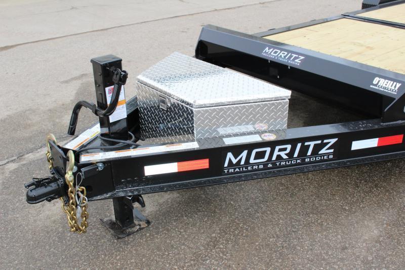 2019 Moritz 16+6 Tilt Trailer