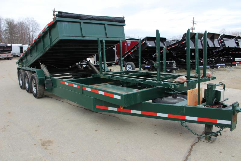 2014 Texas Pride Trailers DT72021KBP Dump Trailer Used