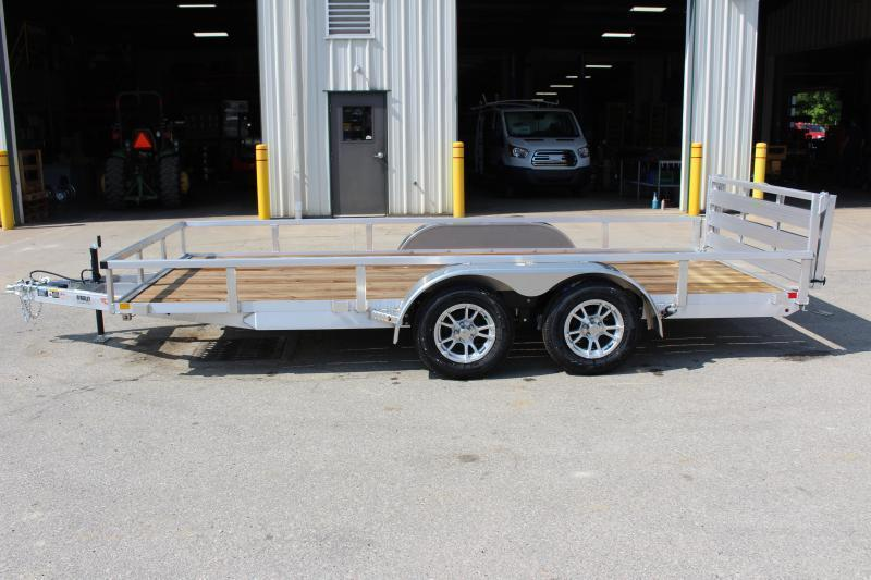 2020 H and H Trailer 6.8 x 16' Utility Trailer