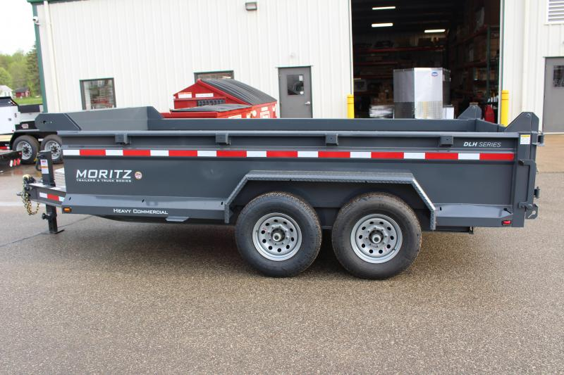 "2019 Moritz International 6'10""x14 HD Dump Trailer"